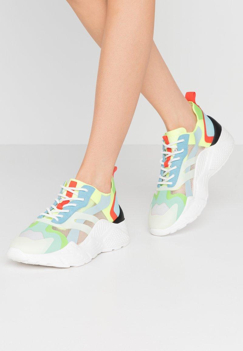 Steve Madden - ASHEN - Sneakers - teal multicolor