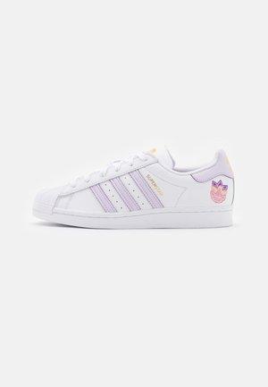 SUPERSTAR  - Baskets basses - white/purple tint/matte gold