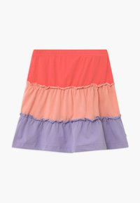 Fred's World by GREEN COTTON - ALFA LAYER - A-line skirt - coral - 0