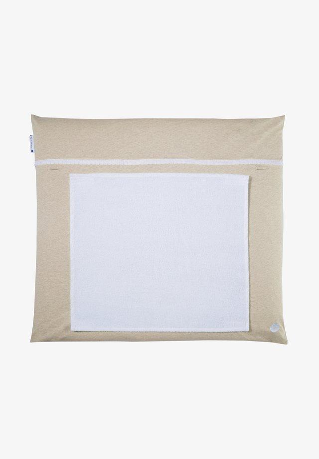 WICKELAUFLAGE MIT ABNEHMBAREM FROTTEEHANDTUCH - Other accessories - beige
