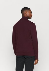 Selected Homme - SLHBERG ROLL NECK - Jumper - winetasting melange - 2