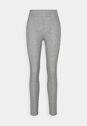 PCRIBBI - Tracksuit bottoms - light grey melange