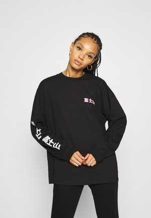 MOUNT FUJI SKATE TEE - Long sleeved top - black