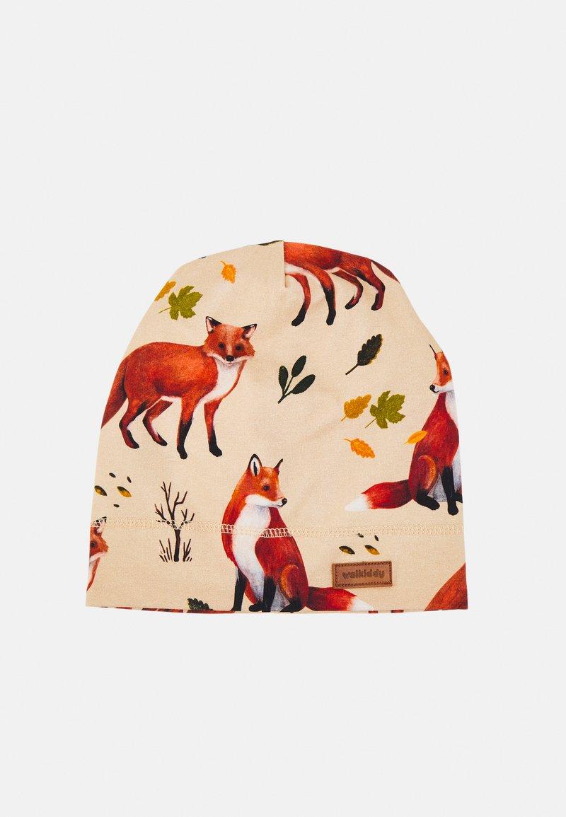 Walkiddy - BEANIE RED FOXES UNISEX - Beanie - brown