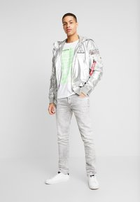 Alpha Industries - HOODED NASA - Summer jacket - silver - 1