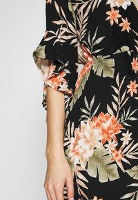 Billabong - LOVE LIGHT - Vestito estivo - black floral - 5