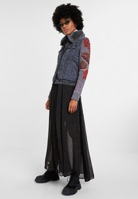 Desigual - CHAQ_PANA - Denim jacket - black - 1
