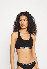 Calvin Klein Underwear - UNLINED BRALETTE - Biustonosz bustier - black - 0