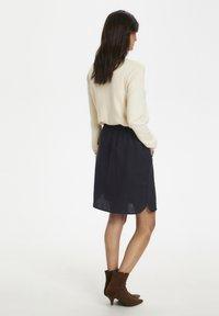 Part Two - RHAPSODYPW  - Mini skirt - dark navy - 2