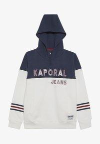 Kaporal - EDVINE - Sweat à capuche - optic white - 2