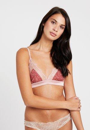 LOVE  - Triangle bra - blush
