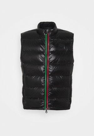 MILENO - Waistcoat - black