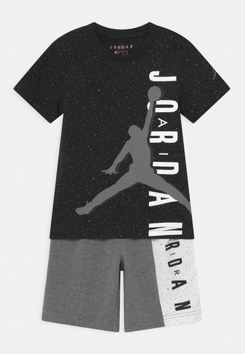 BIG VERT SET - Print T-shirt - carbon heather