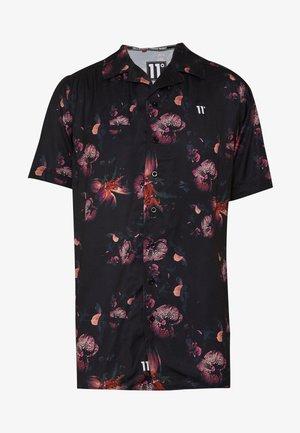 SHORT SLEEVE RESORT SHIRT - Shirt - black