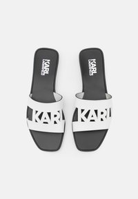 KARL LAGERFELD - SKOOT KUT OUT - Mules - white - 4