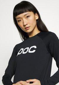 POC - ESSENTIAL  - Langærmede T-shirts - uranium black - 4