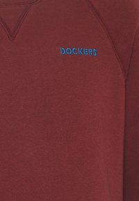 DOCKERS - LOGO CREWNECK - Sweatshirt - chestnut red - 2