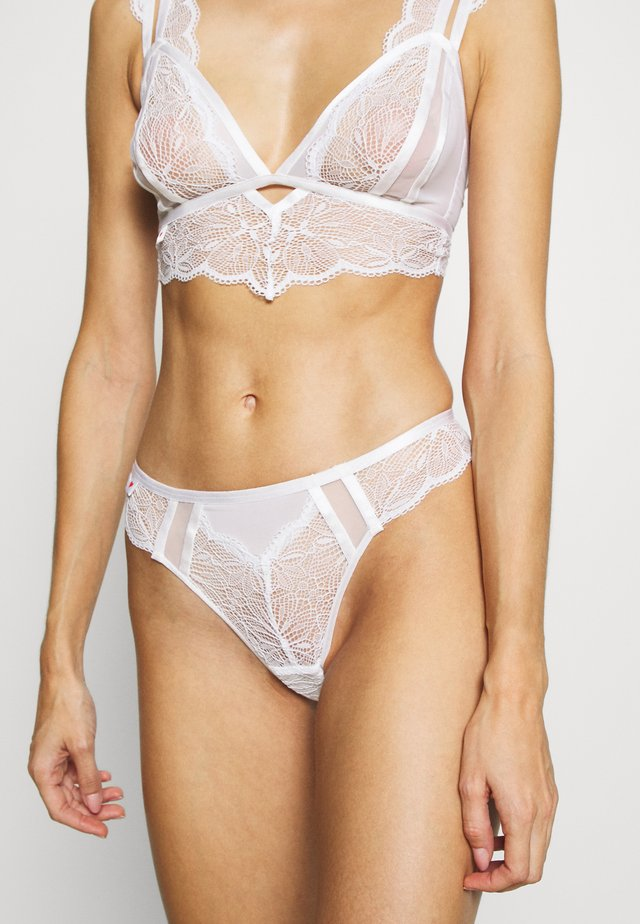 THE ADMIRER BRAZILIAN - Slip - white