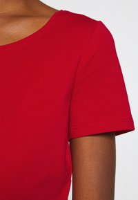 Esprit - CORE  - Basic T-shirt - dark red - 4