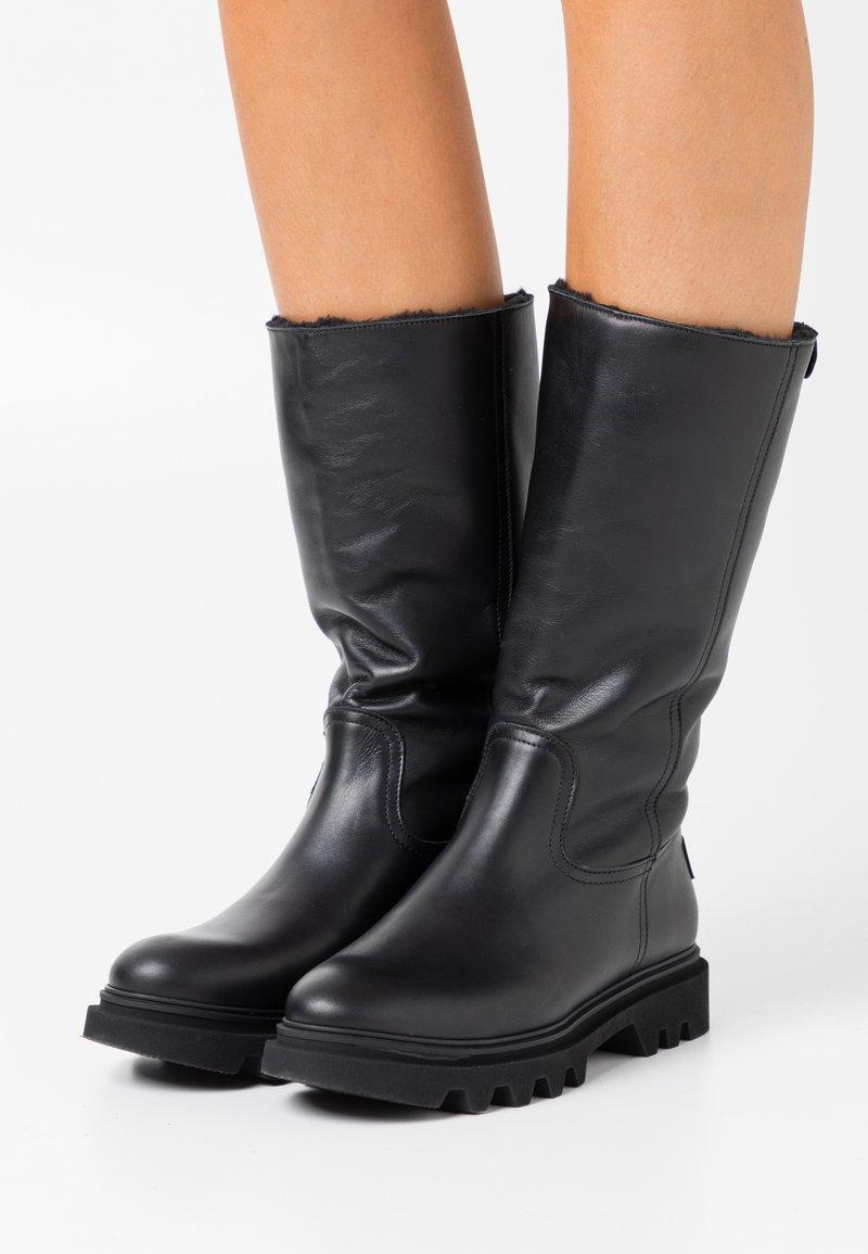 Panama Jack - TULIA - Vysoká obuv - black