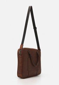 ALDO - PANDORO - Briefcase - cognac - 1
