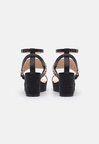 River Island - Platform sandals - black - 2