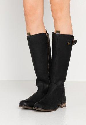 REBECCA - Cowboy/Biker boots - black
