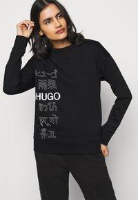 HUGO - NAKIRA - Mikina - black - 3