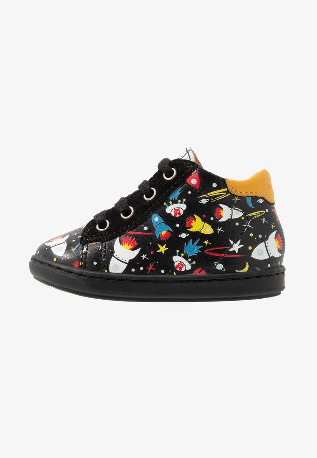 BOUBA DUCK - Sneakers alte - black/mais