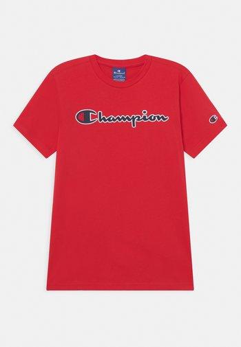 LOGO CREWNECK UNISEX - T-shirt con stampa - red
