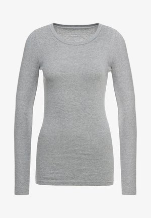 SLIM PERFECT  - Long sleeved top - heather grey