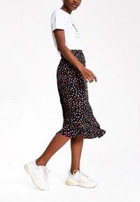 River Island - A-line skirt - black - 0