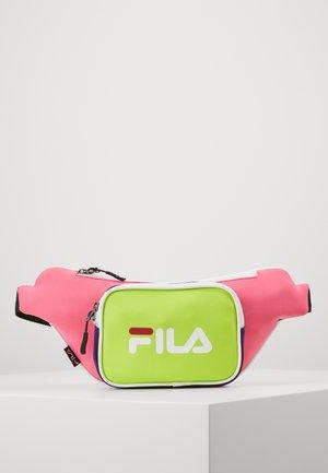 WAIST BAG - Bæltetasker - pink yarrow/sharp green/tillandsia purple