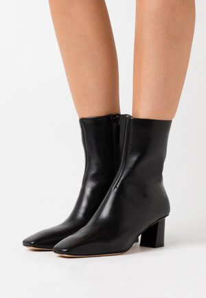 TESS SQUARE TOE BOOT - Classic ankle boots - black