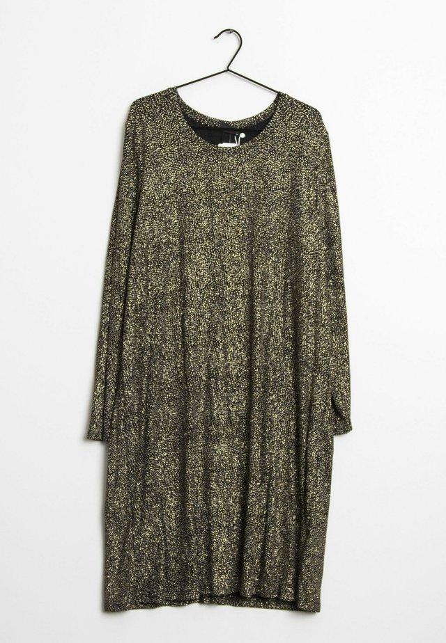 Korte jurk - gold