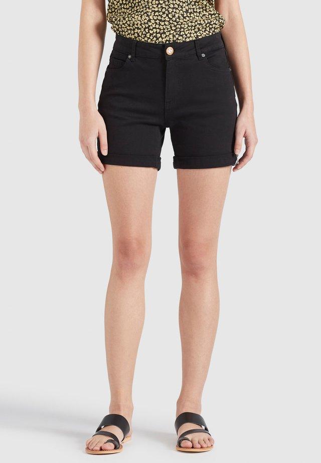 RIVEN - Shorts di jeans - schwarz