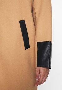 River Island Plus - Classic coat - camel - 5