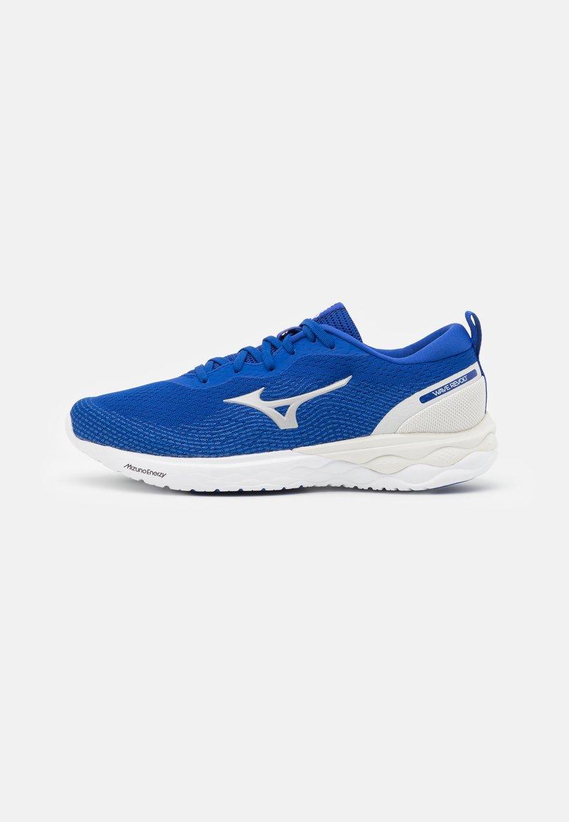 Mizuno - WAVE REVOLT - Neutral running shoes - surf the web/silver/white