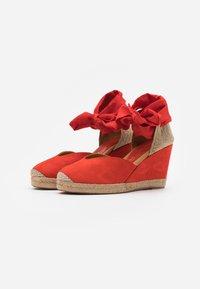 Unisa - CHUFY - Sandály na vysokém podpatku - corallo - 2