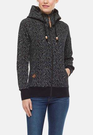 CHELSEA ZIP - Zip-up sweatshirt - schwarz