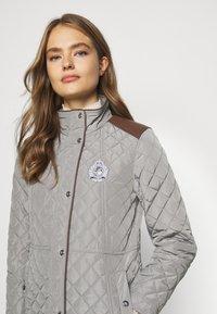 Lauren Ralph Lauren - Krátký kabát - prince grey - 6