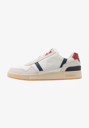 T-CLIP - Baskets basses - offwhite/navy/red