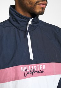 Hollister Co. - Summer jacket - navy/pink/white - 5