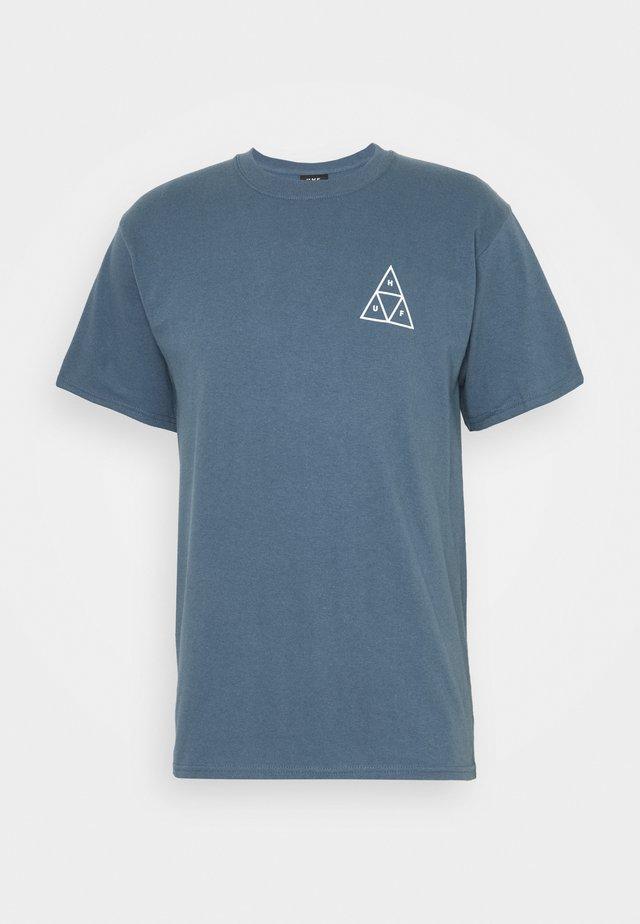 LUPUS NOCTEM TEE - T-shirt imprimé - slate