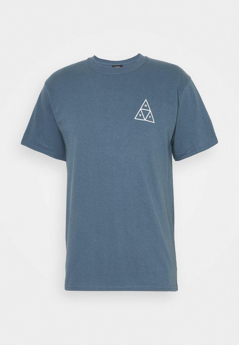 HUF - LUPUS NOCTEM TEE - Print T-shirt - slate