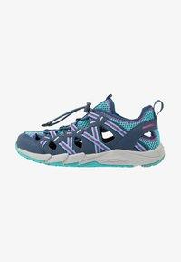 Merrell - HYDRO CHOPROCK - Walking sandals - navy/turquoise - 1
