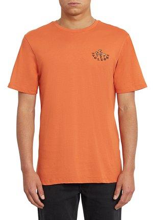 BLOOM OF DOOM FTY SS - Camiseta estampada - orange