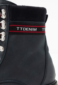 TOM TAILOR DENIM - Lace-up ankle boots - dark blue - 2