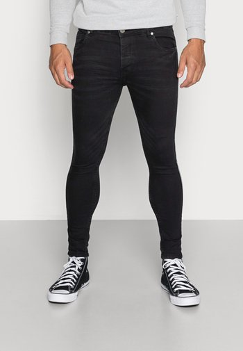 RONNIE - Jeans Skinny Fit - charcoal