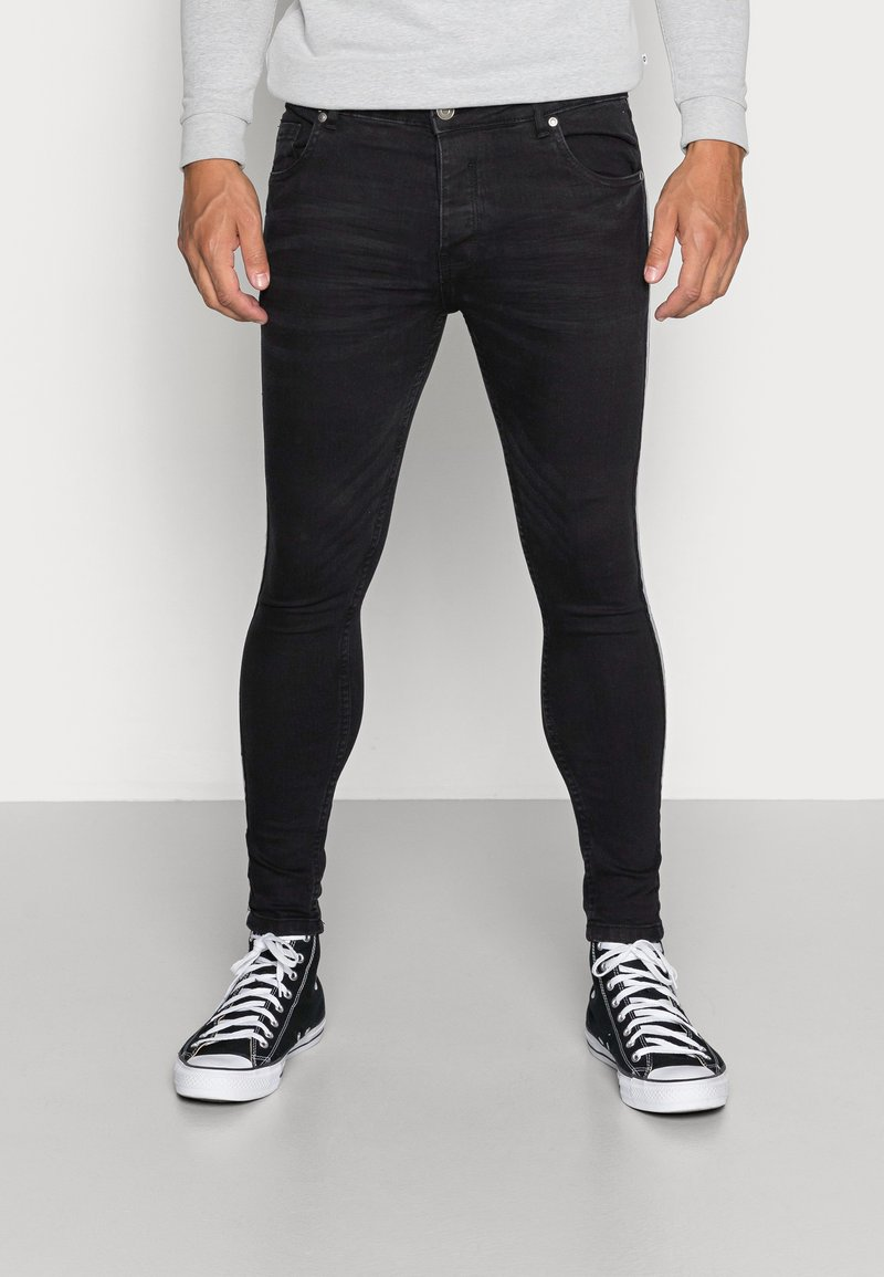 Brave Soul - RONNIE - Jeans Skinny - charcoal